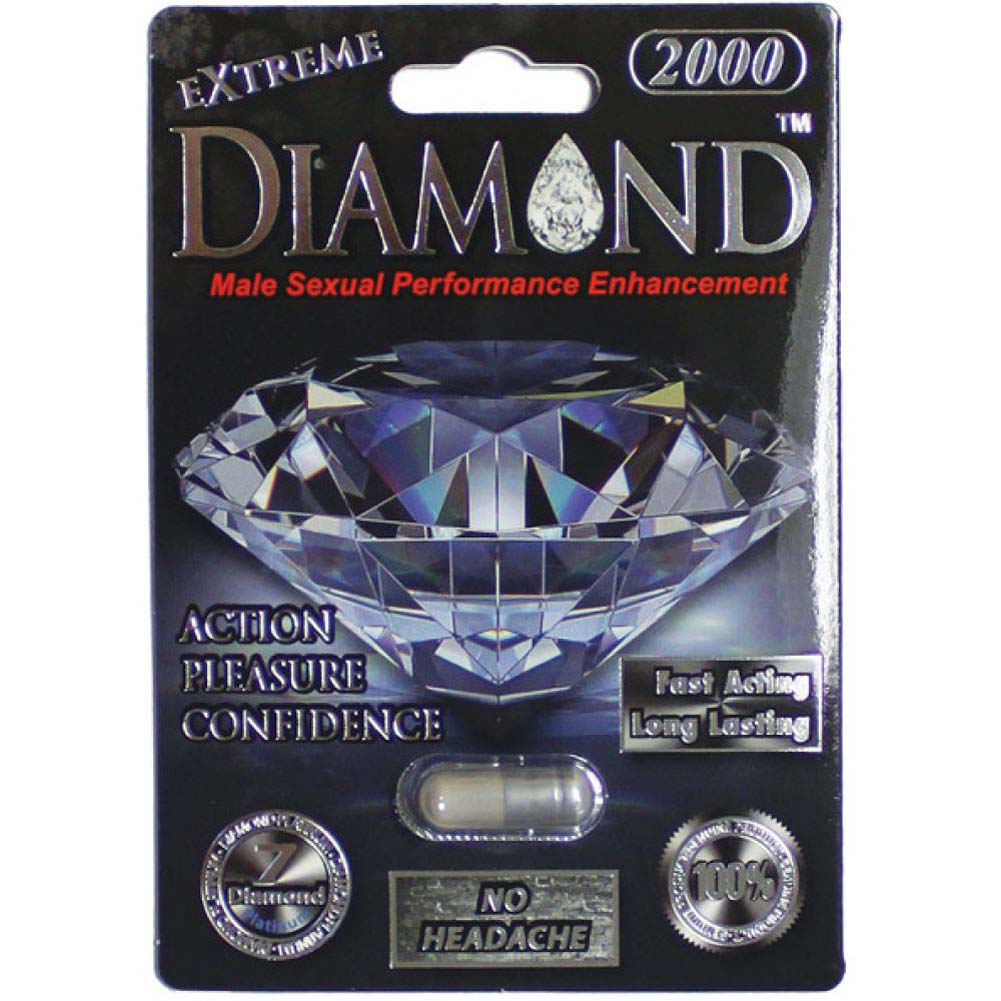 Extreme Diamond Platinum 2000 1 Capsule Blister - View #1
