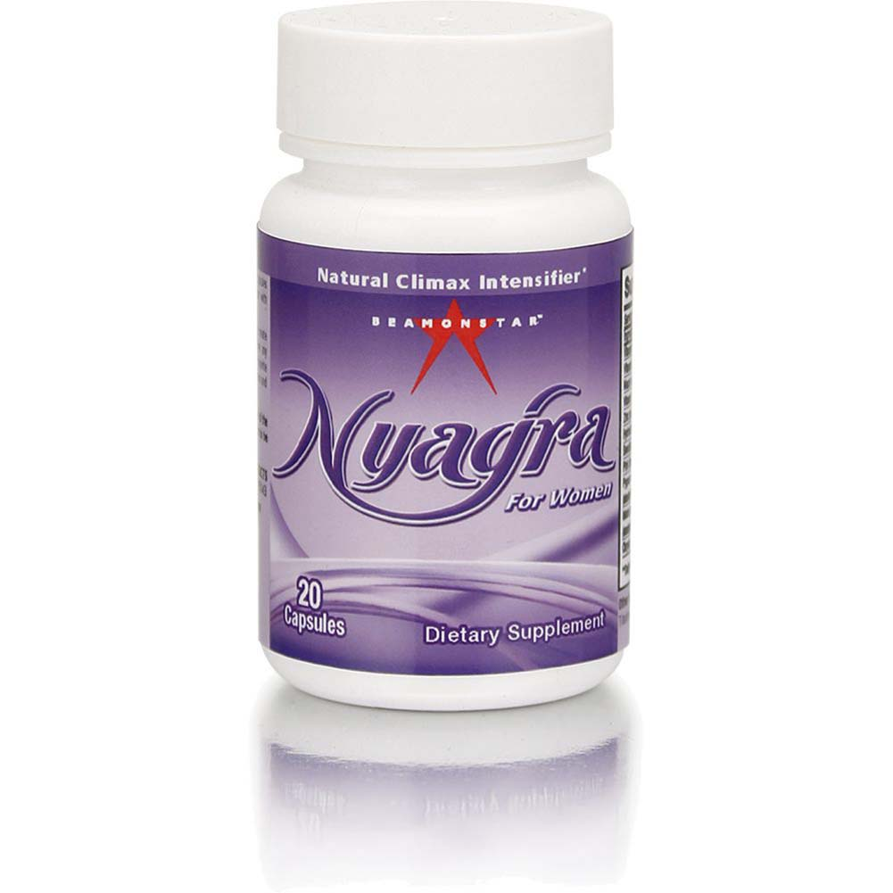 Nyagra Female Climax Intensifier Bottle of 20 Capsules - View #2