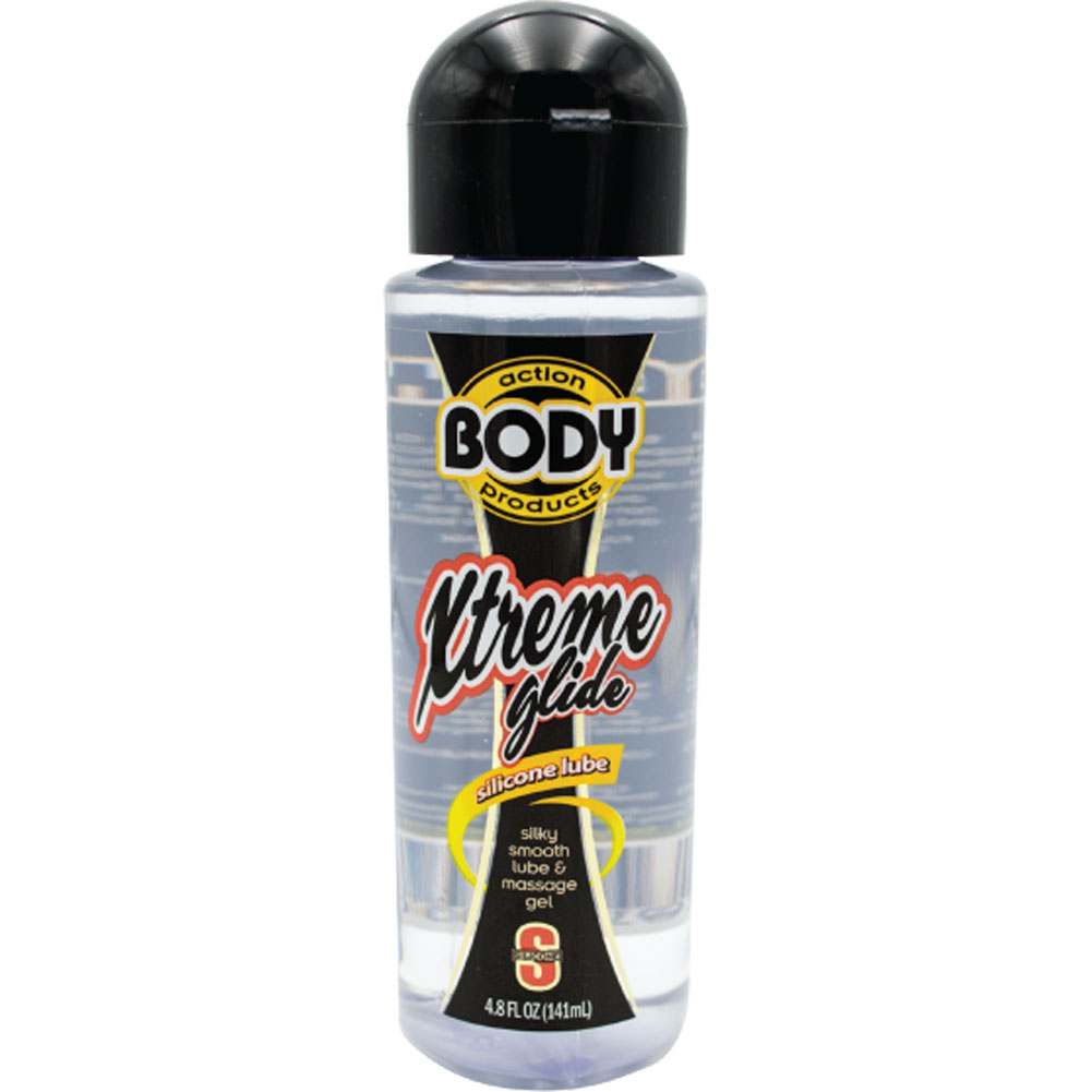 Body Action Xtreme Silicone Personal Lubricant 4.8 Fl.Oz 140 mL - View #2