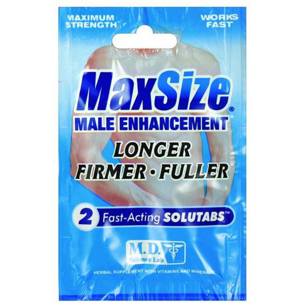 MaxSize Male Enhancement 2 Pill Pack - View #1