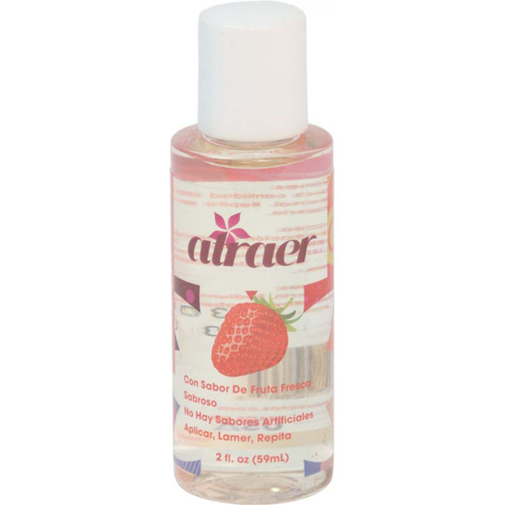 Atraer Fresa Personal Flavored Lubricant 2 Oz Strawberry - View #1