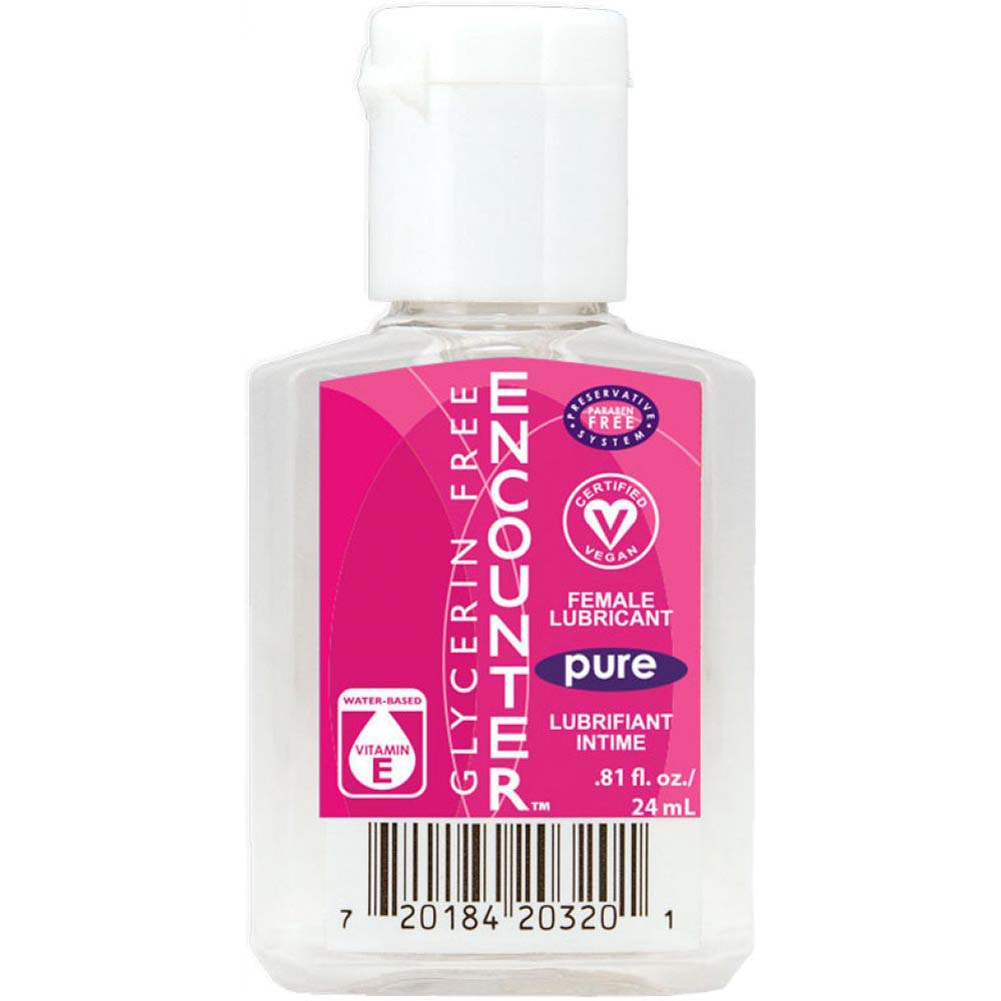 Encounter Glycerin-Free Pure Female Lubricant 0.81 Oz - View #1