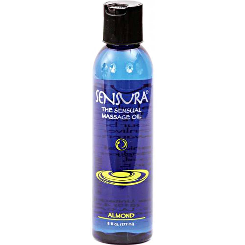 Sensura Massage Oil 6 Oz Almond - View #1