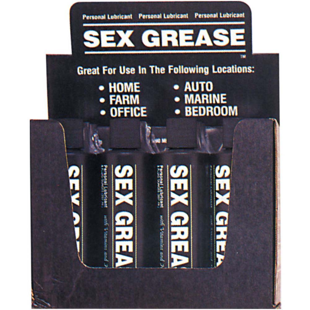 Sex Grease Personal Lubricant 8 Oz - View #2