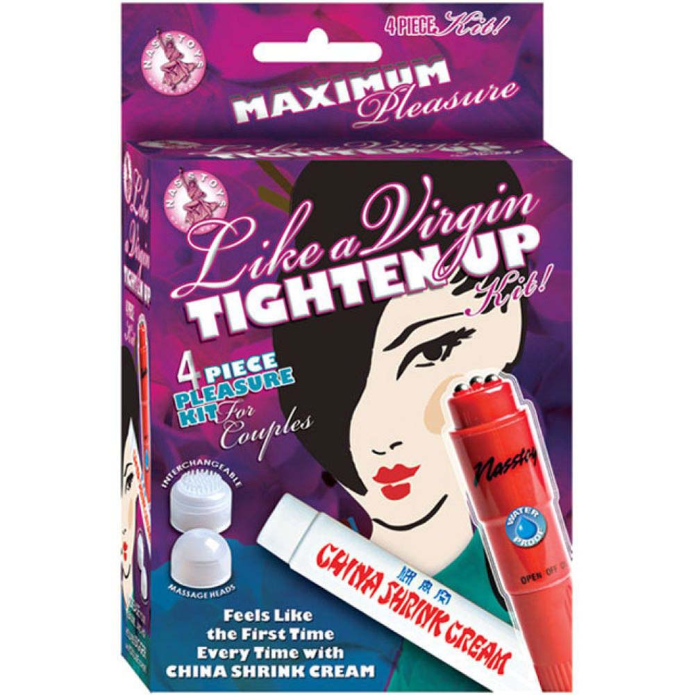 Like a Virgin Tighten Up 4 Piece Pleasure Kit Red Vibe - View #1