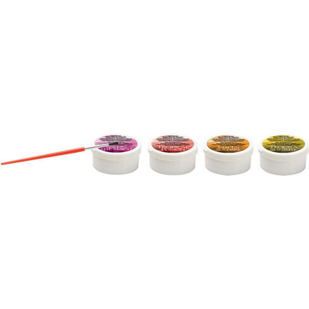 Wildfire Lovin Hot Body Paints 4 Pack 1 Oz Hot Flavors - View #1