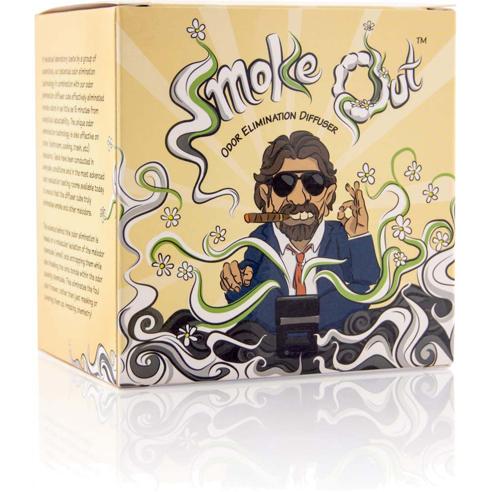 Smoke Out Diffuser Cigar Guy Odor Diffuser Deluxe Kit - View #3