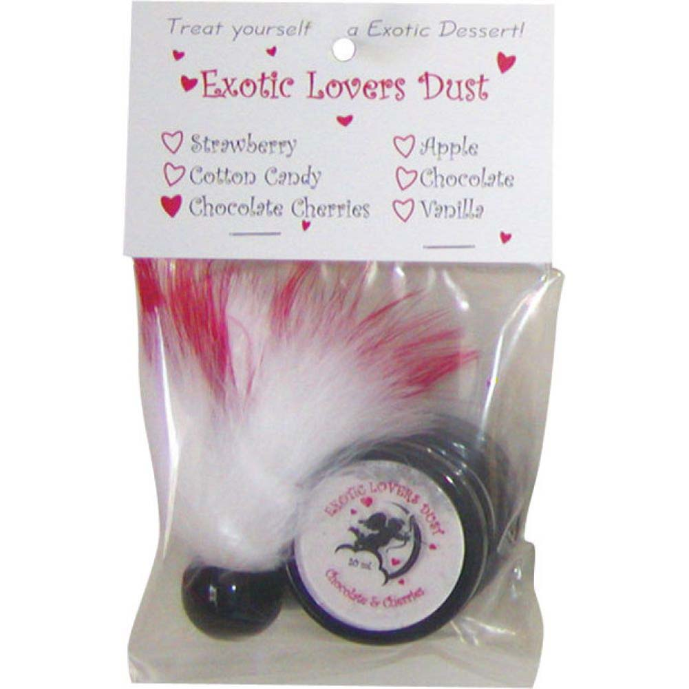 Exotic Lovers Dust and Feather Duster 20 Ml Strawberry - View #2