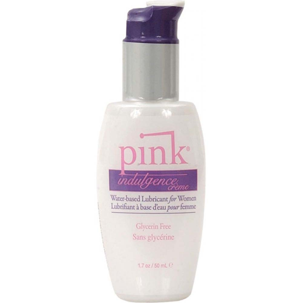 Pink Indulgence Creme Personal Water Based Lubricant for Women 1.7 Fl. Oz 50 mL - View #2