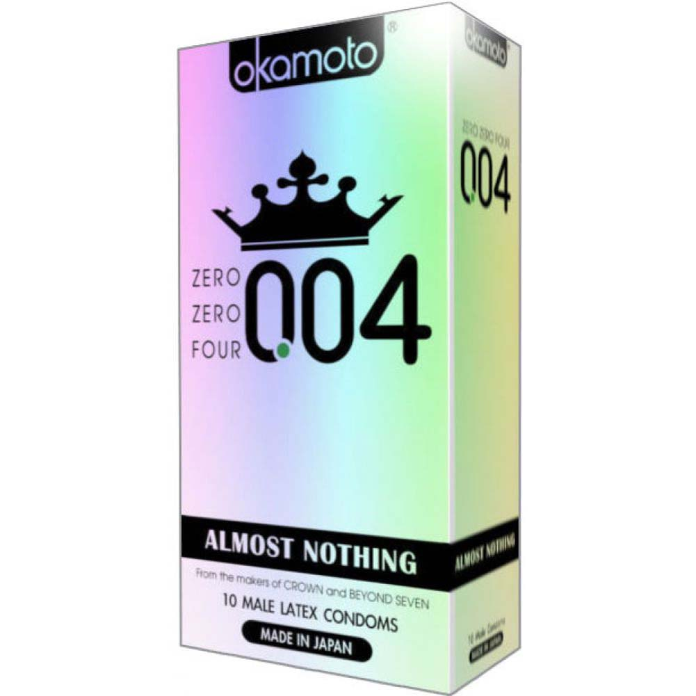 004 Almost Nothing Condoms 10 Pack - View #1