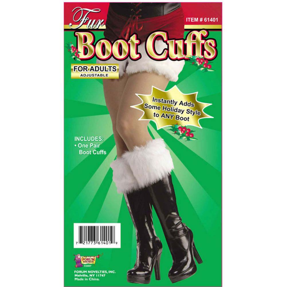 Fur Boot Cuffs Instantly Adds Some Holiday Style to Any Boot - View #1