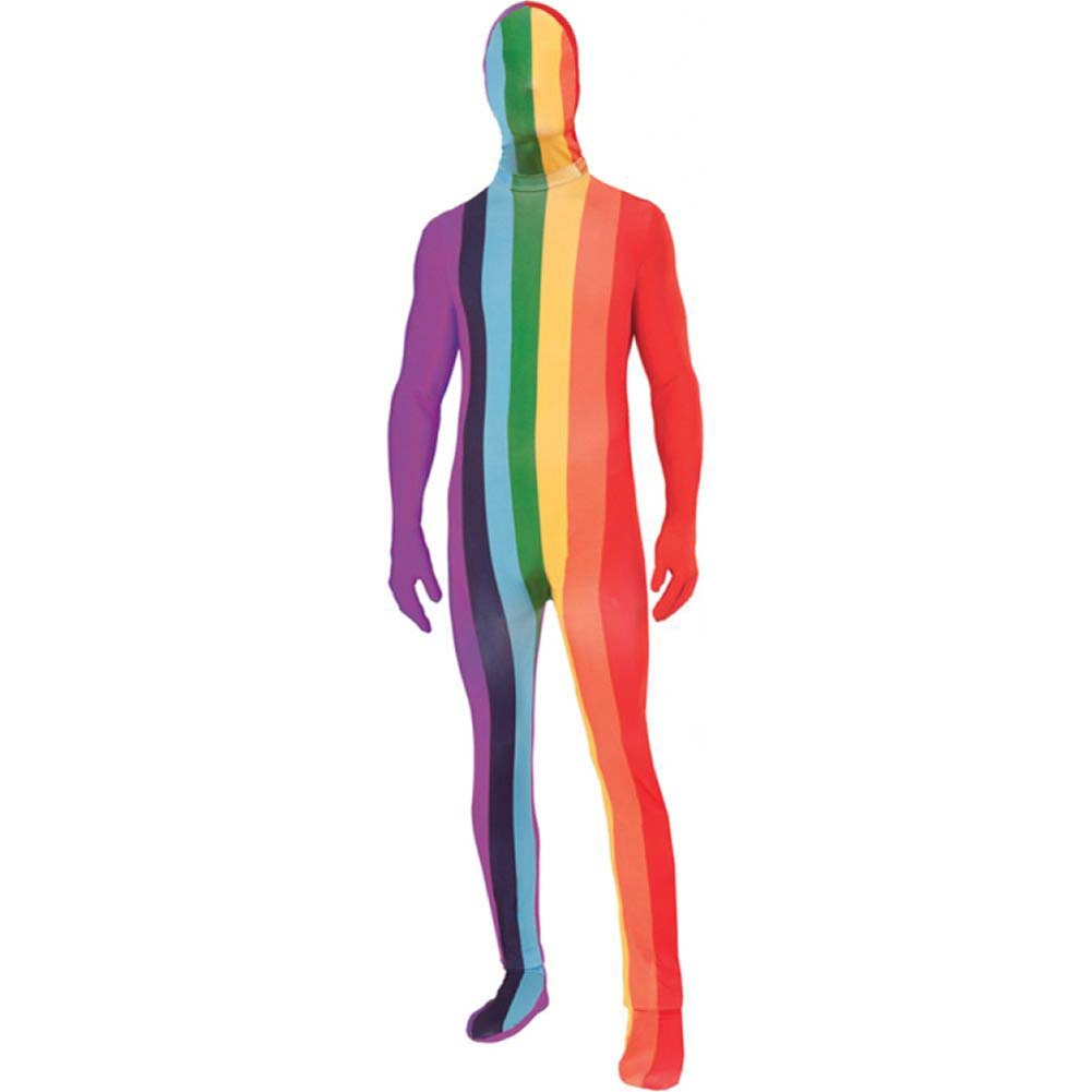 Forum Novelties Rainbow Disappearing Man Suit XL Multicolored - View #1