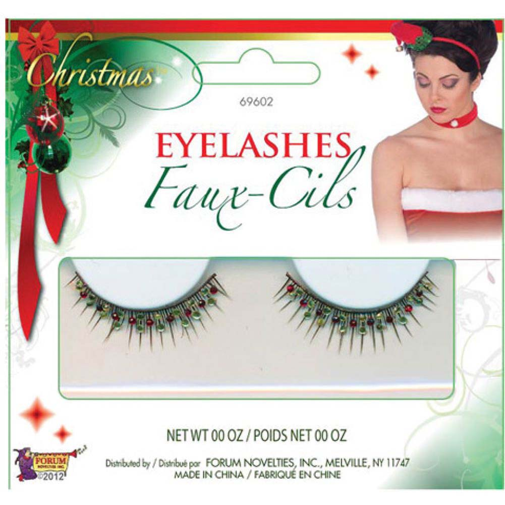 Forum Novelties Christmas Eyelashes 1 - View #1