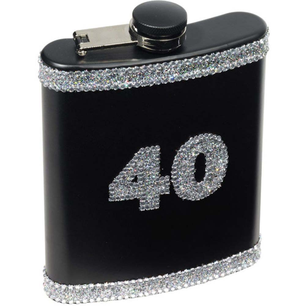 Forum Novelties 40 Birthday Flask - View #1