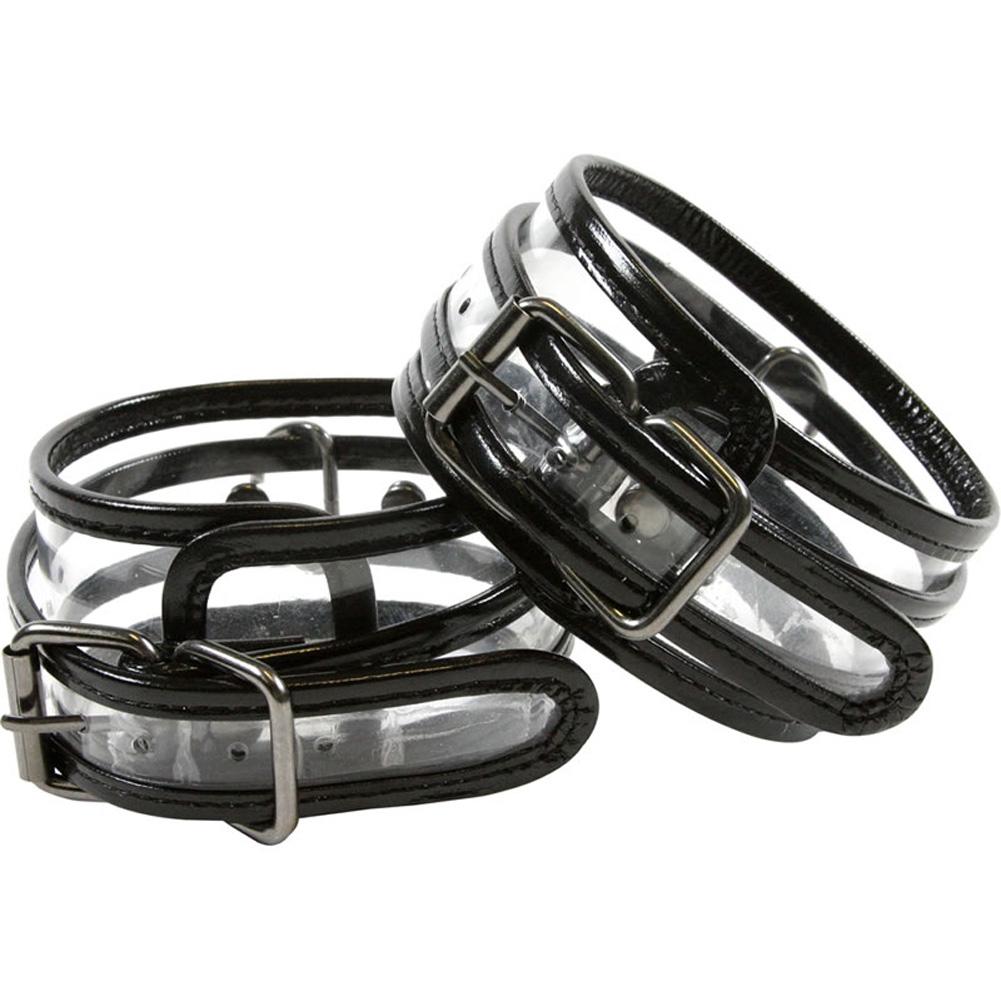 NS Novelties Bare Bondage Wrist Cuffs - View #2