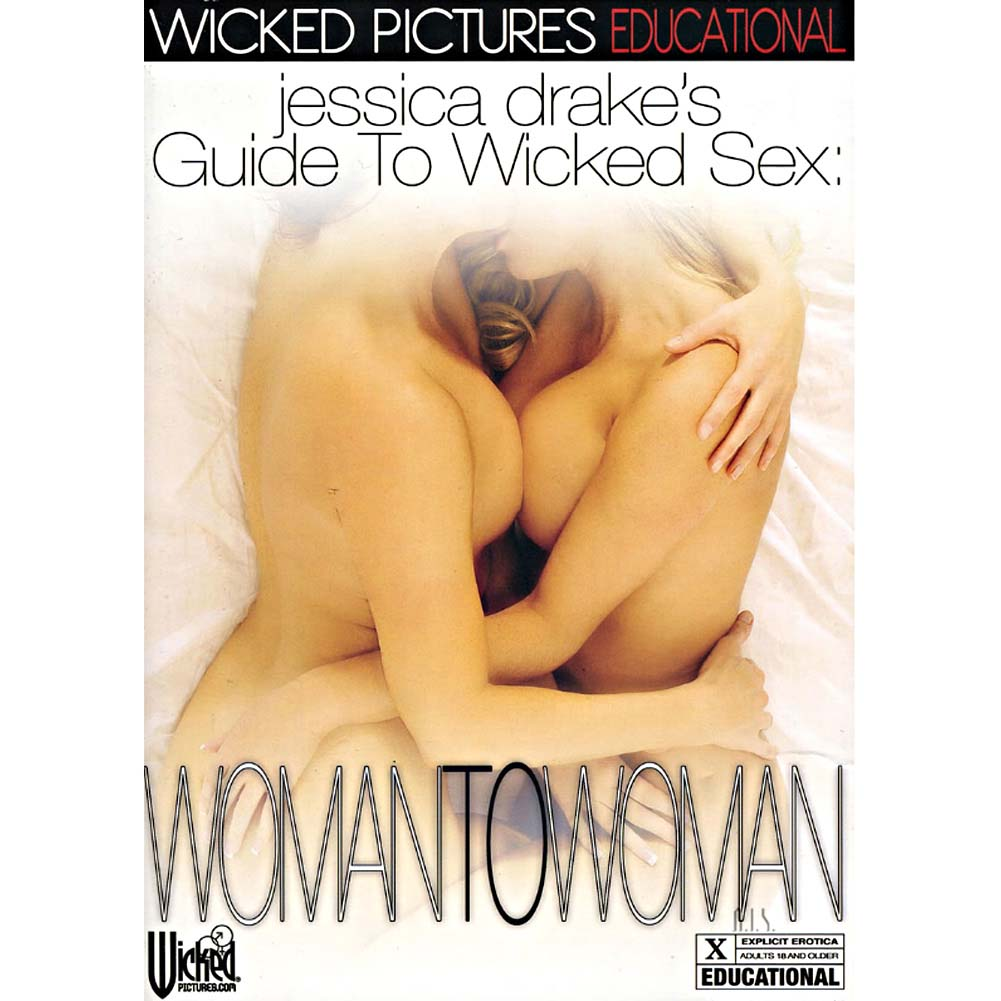 Jessica Drake Guide To Wicked Sex Woman To Woman DVD - View #1