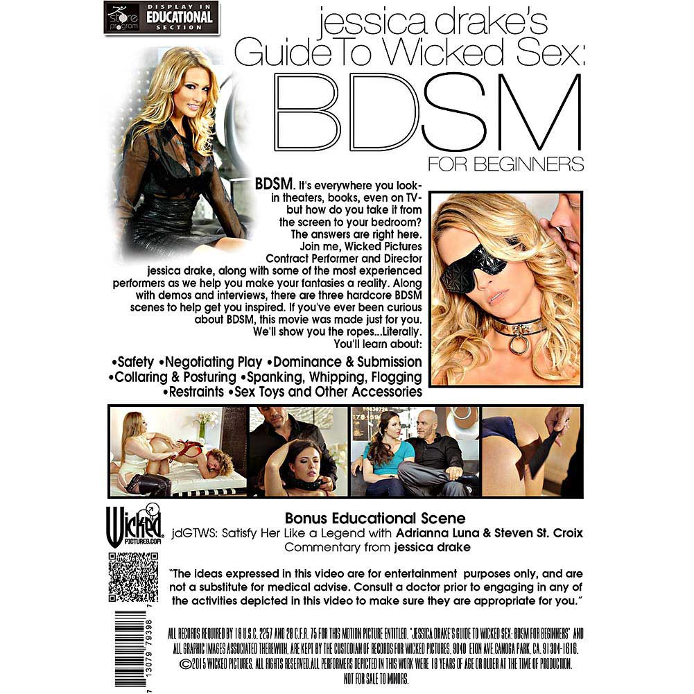 Jessica Drake Guide To Wicked Sex BDSM DVD - View #2