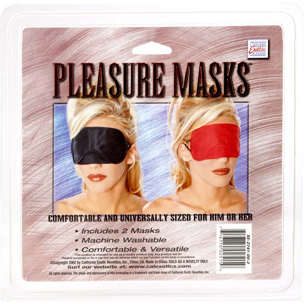 California Exotics Pleasure Masks 2 Pack - View #4