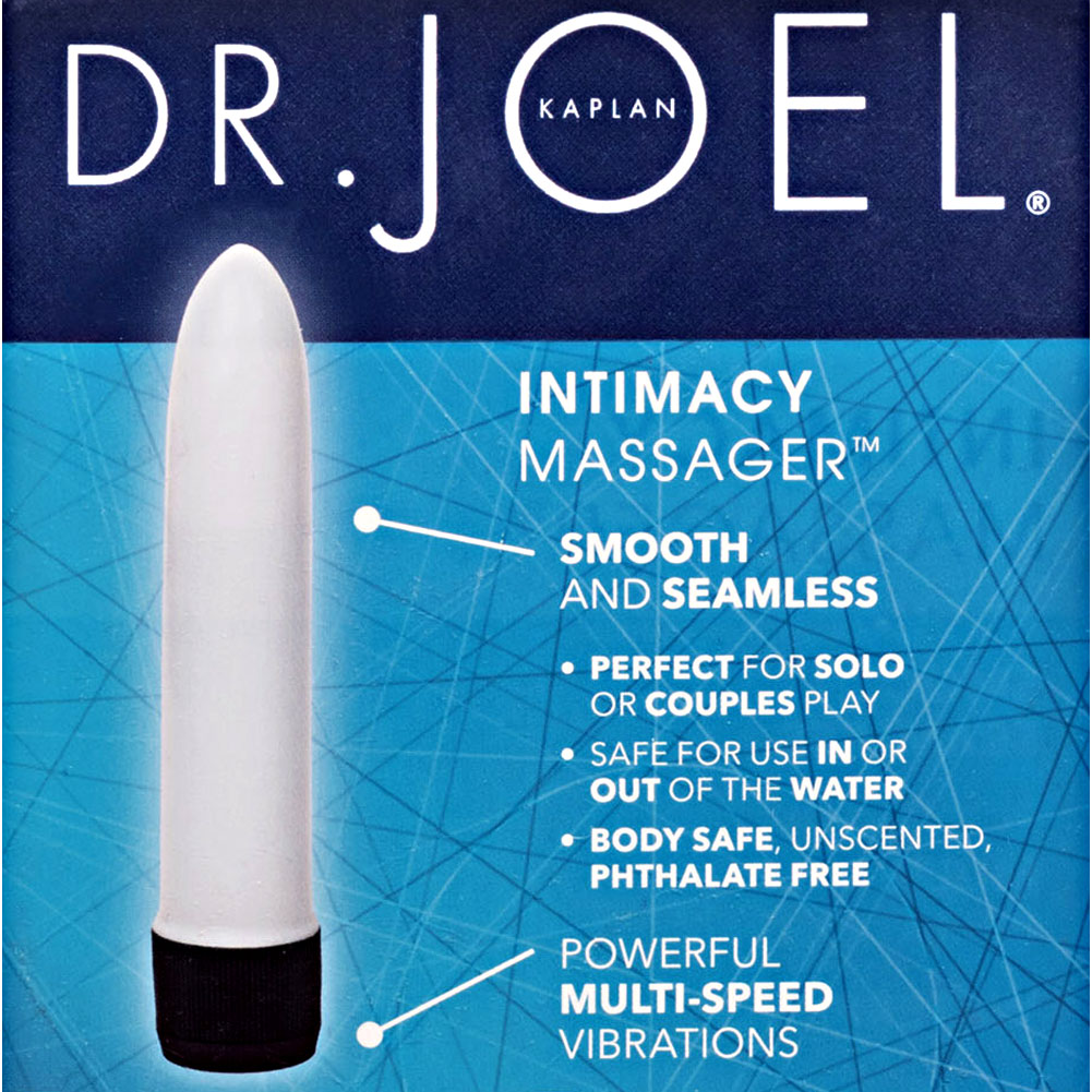 "California Exotics Dr. Joel Kaplan Intimacy Massager 4.5"" White - View #1"