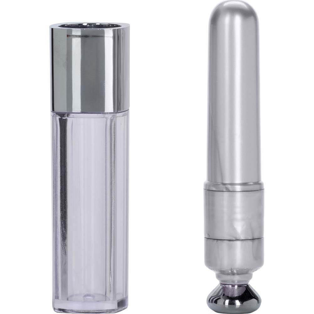 "California Exotics Discreet Intimates Bullet Vibrator 2.25"" White - View #2"