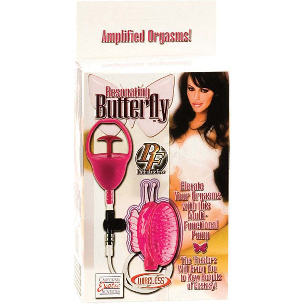 Resonating Butterfly Clitoral Pump - Pink - View #3