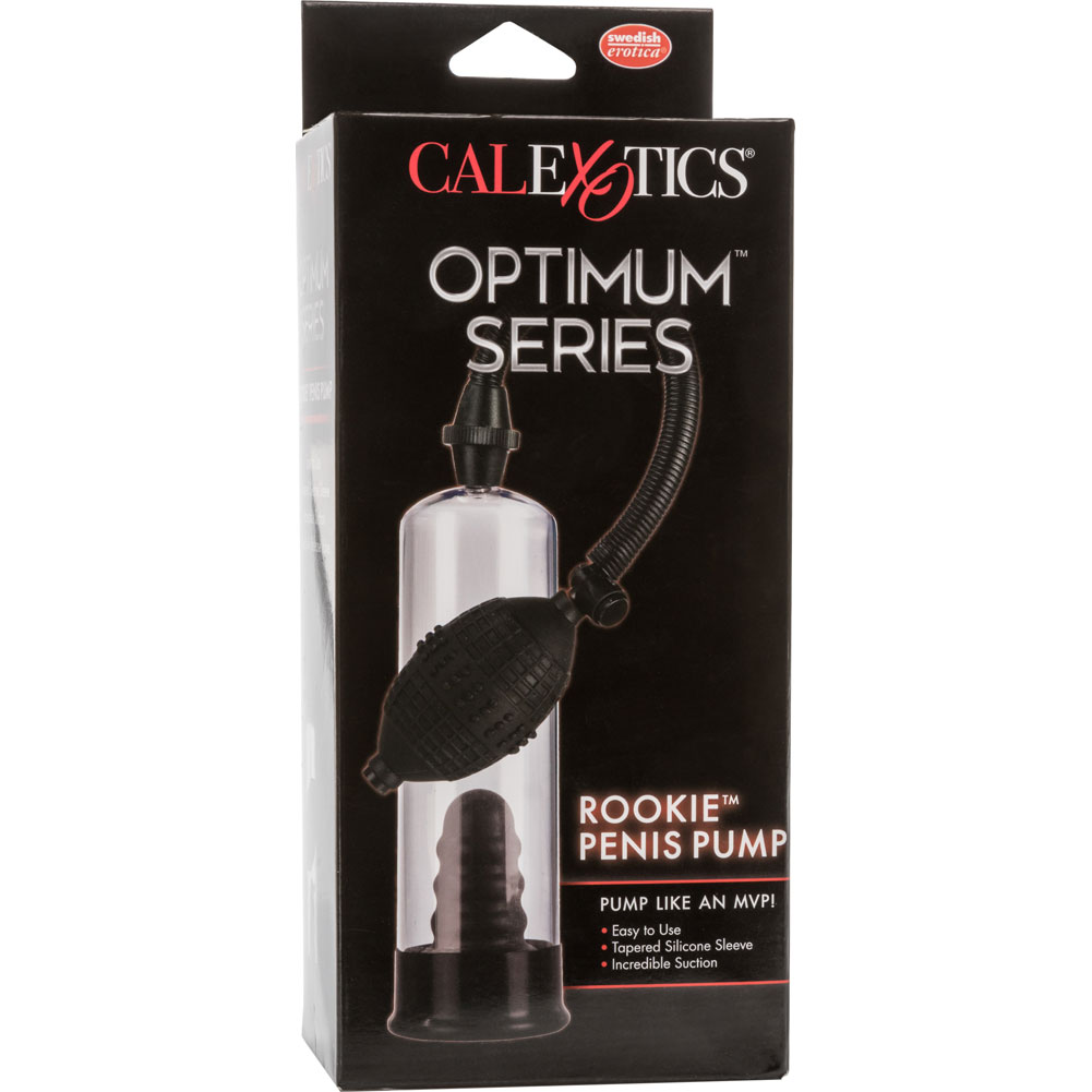 "CalExotics Rookie Penis Pump 7.5"" Clear - View #4"