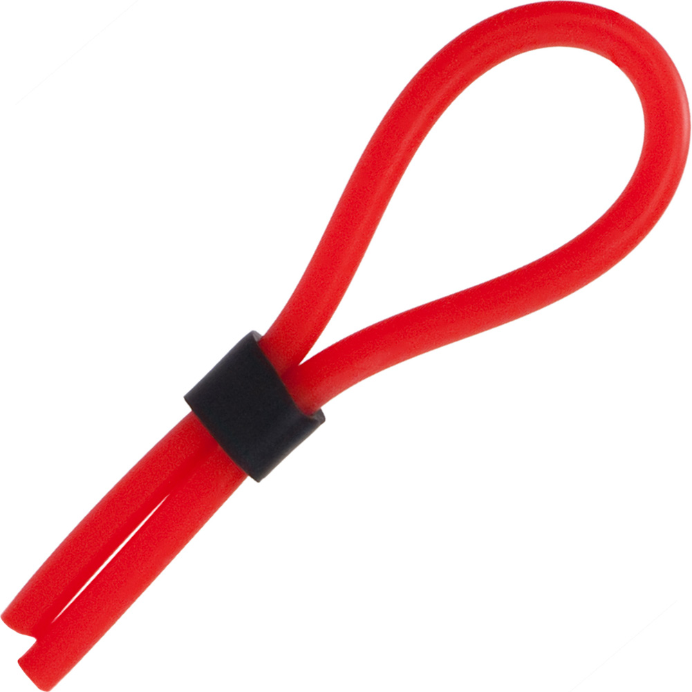 Silicone Stud Lasso Ring - Red - View #2