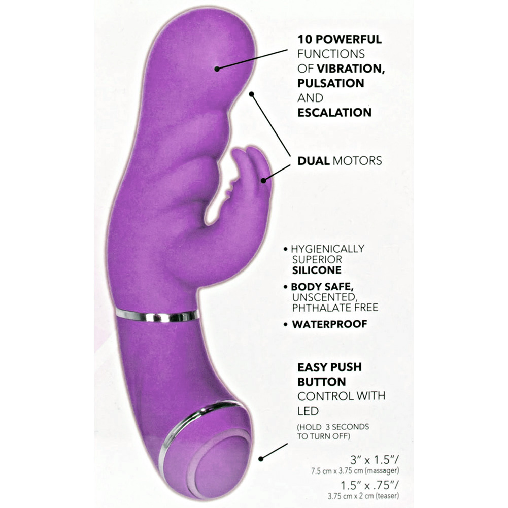 "Up Scoop It Up Vibrator 7"" Purple - View #1"
