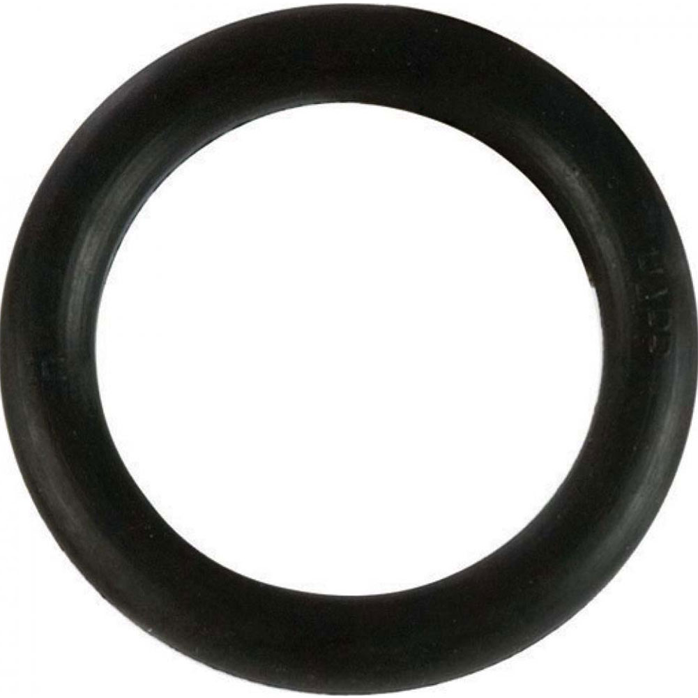 "Small Rubber Cock Ring 1.75"" Black - View #2"