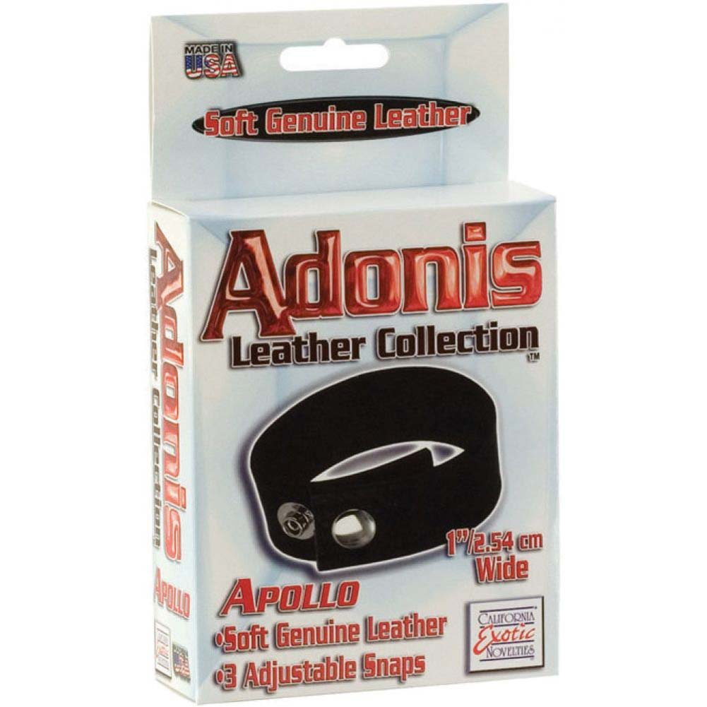 Adonis Leather Collection Apollo 3 Snap Adjustable - View #1