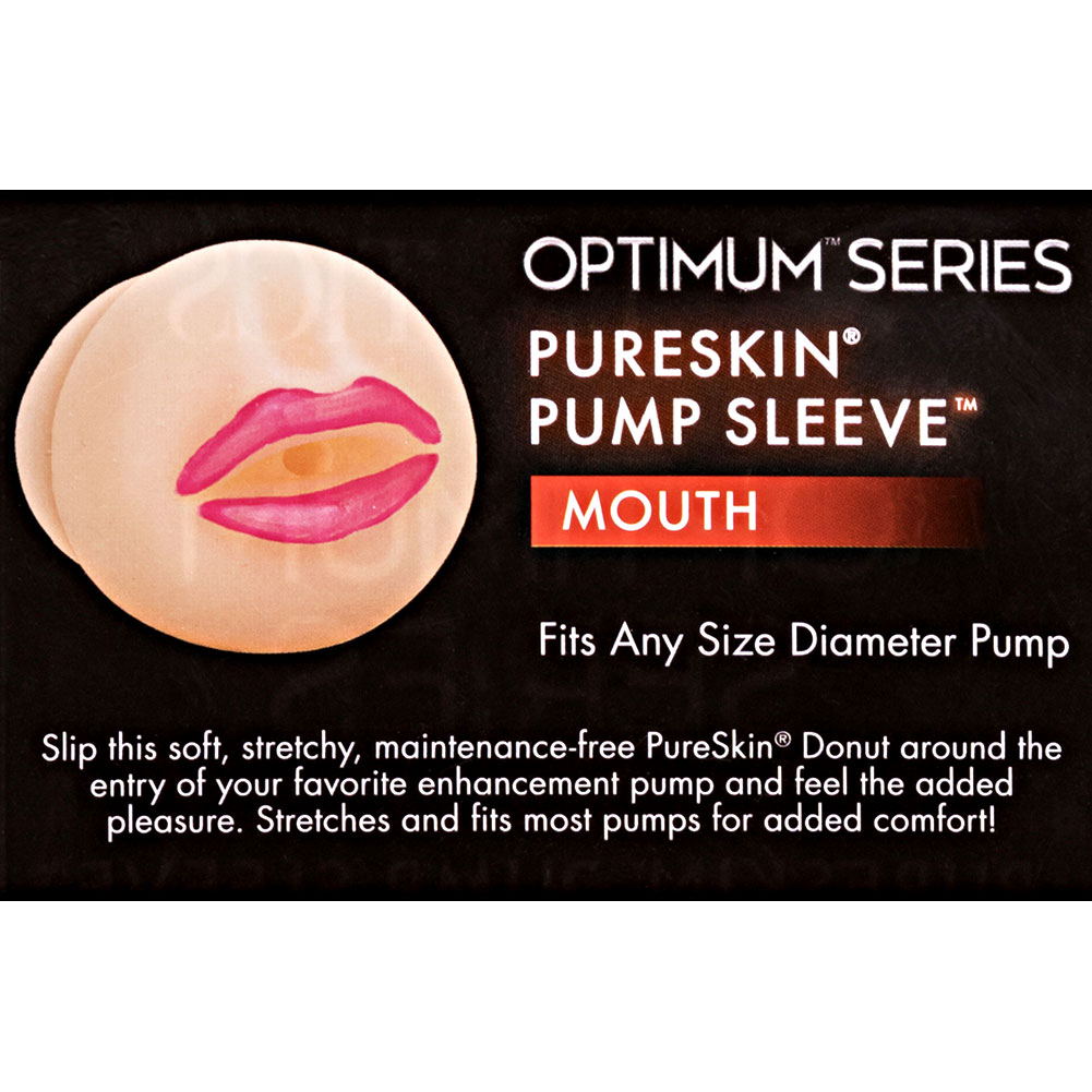 Pure Skin Pump Sleeve - Lips - Ivory - View #1