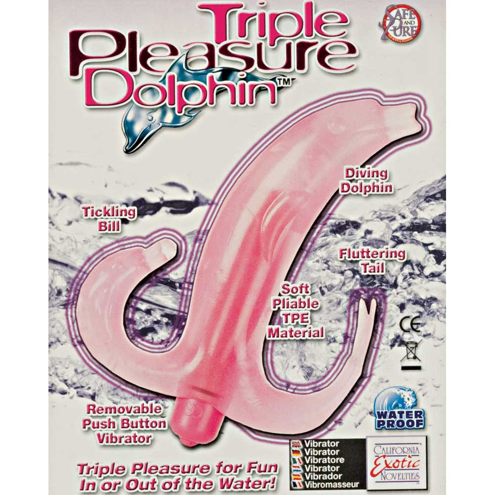 Triple Pleasure Dolphin - Pink - View #1