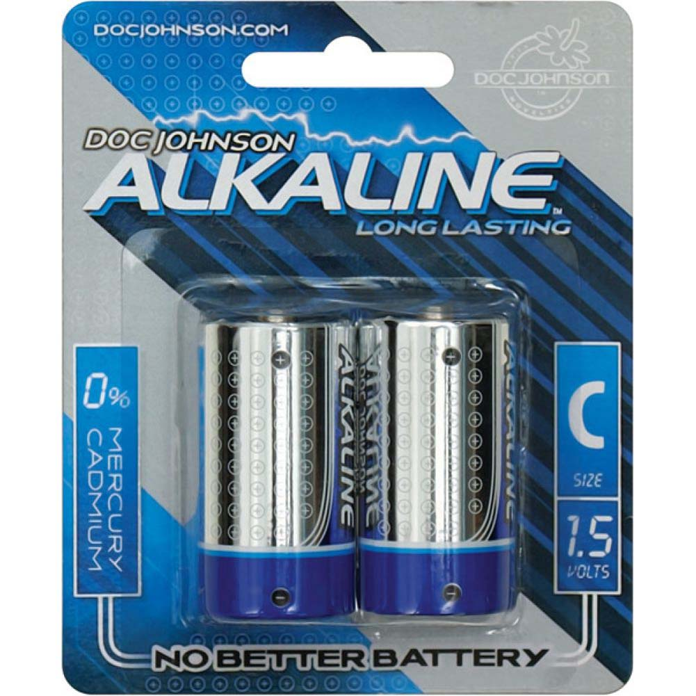 Doc Johnson Alkaline C Batteries Pack of 2 - View #1
