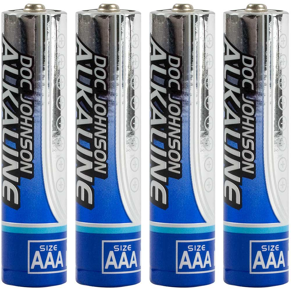 Doc Johnson AAA Alkaline Batteries Pack of 4 - View #2