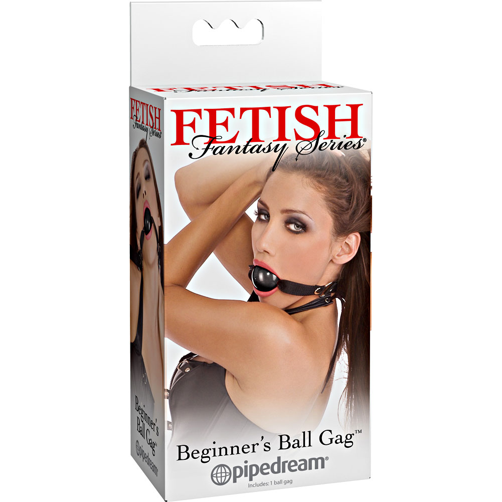 Fetish Fantasy Series BeginnerS Ball Gag Black - View #4
