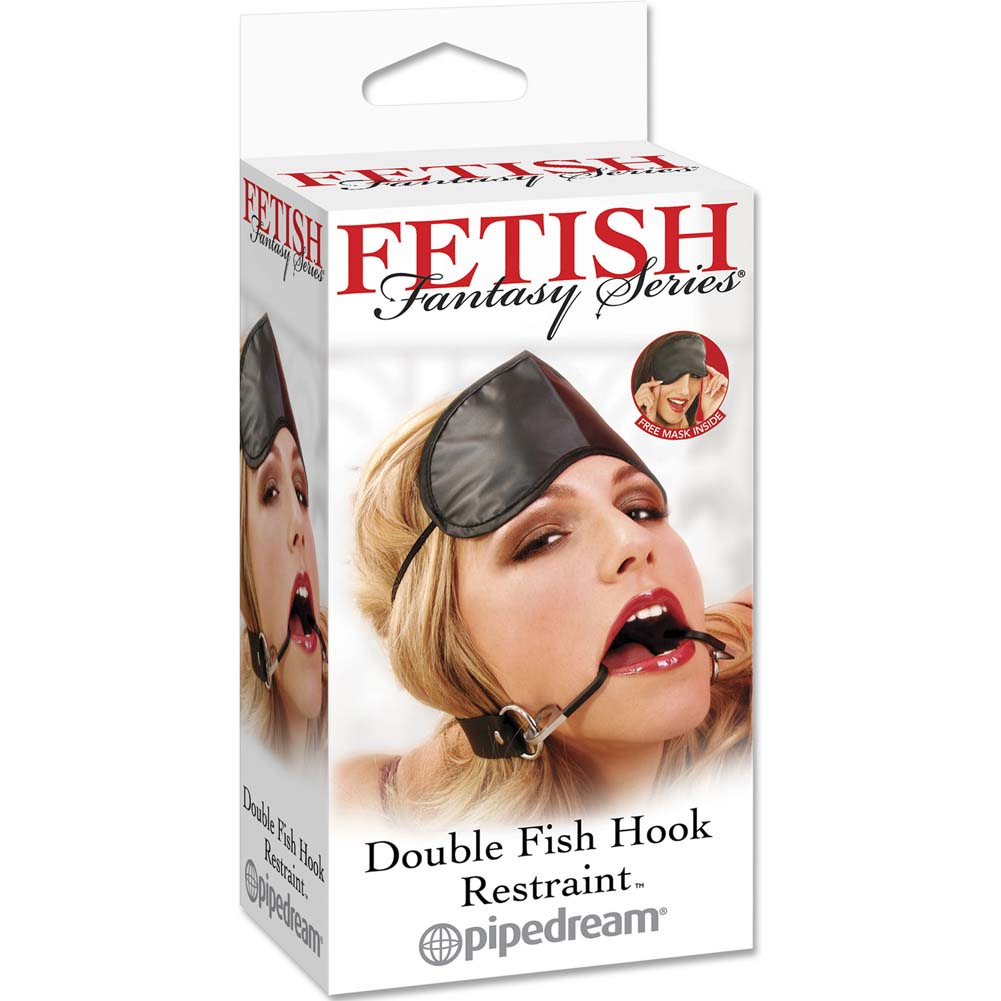 Pipedream Fetish Fantasy Series Double Fish Hook Restraint Gag - View #1