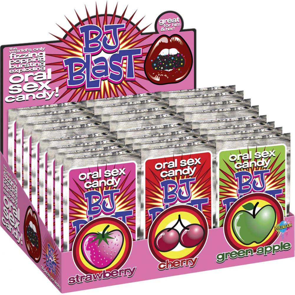 BJ Blast Assorted Oral Sex Candy 36 Pack Counter Display - View #1