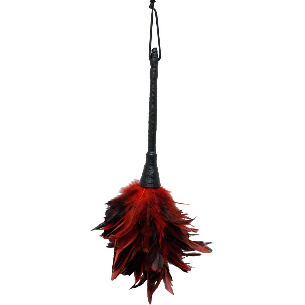 Pipedream Fetish Fantasy Series Frisky Feather Duster Red - View #2