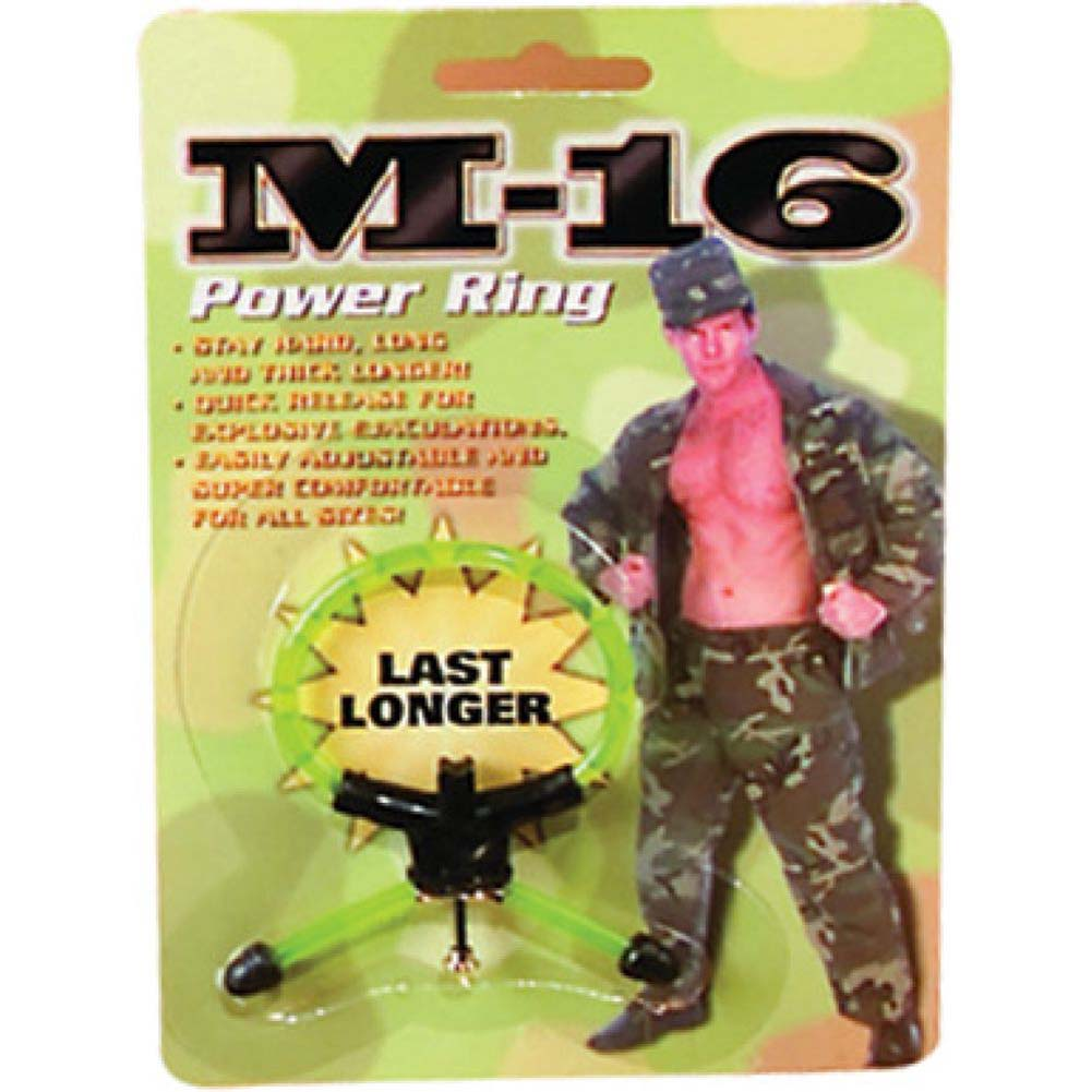 M-16 Power Ring - Green - View #2