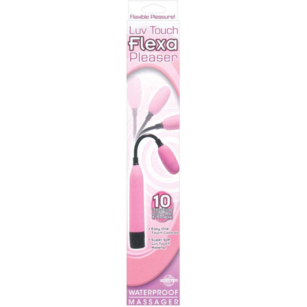 Luv Touch Flexa Pleaser Waterproof Massager - Pink - View #2