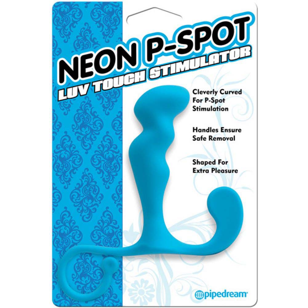 NEON LUV TOUCH PROSTATE STIMULATOR BLUE - View #2