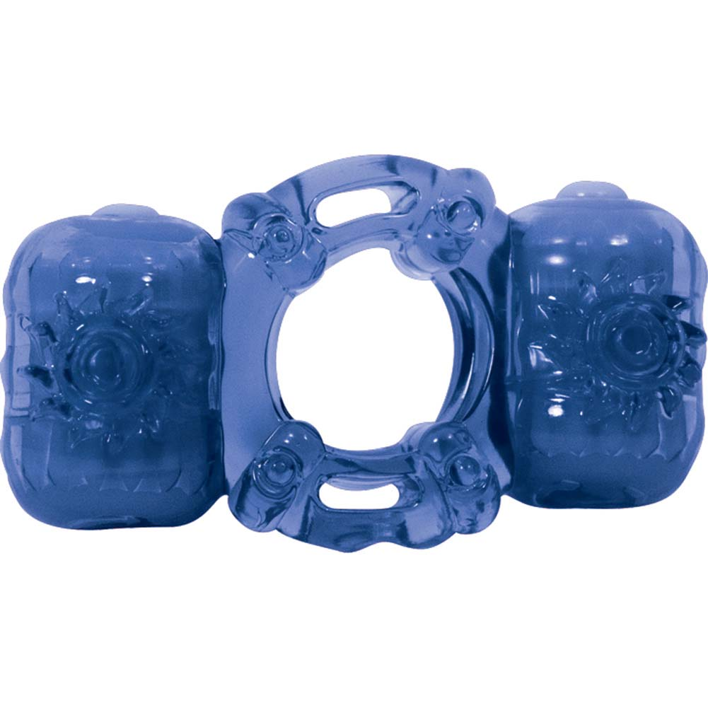 Nasstoys PartnerS Pleasure Ring Vibrations Blue - View #2