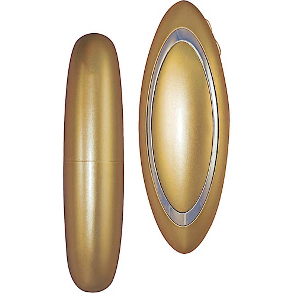 "Nasstoys Elite Collection Ultra Bullet Vibrator 4"" Gold - View #2"