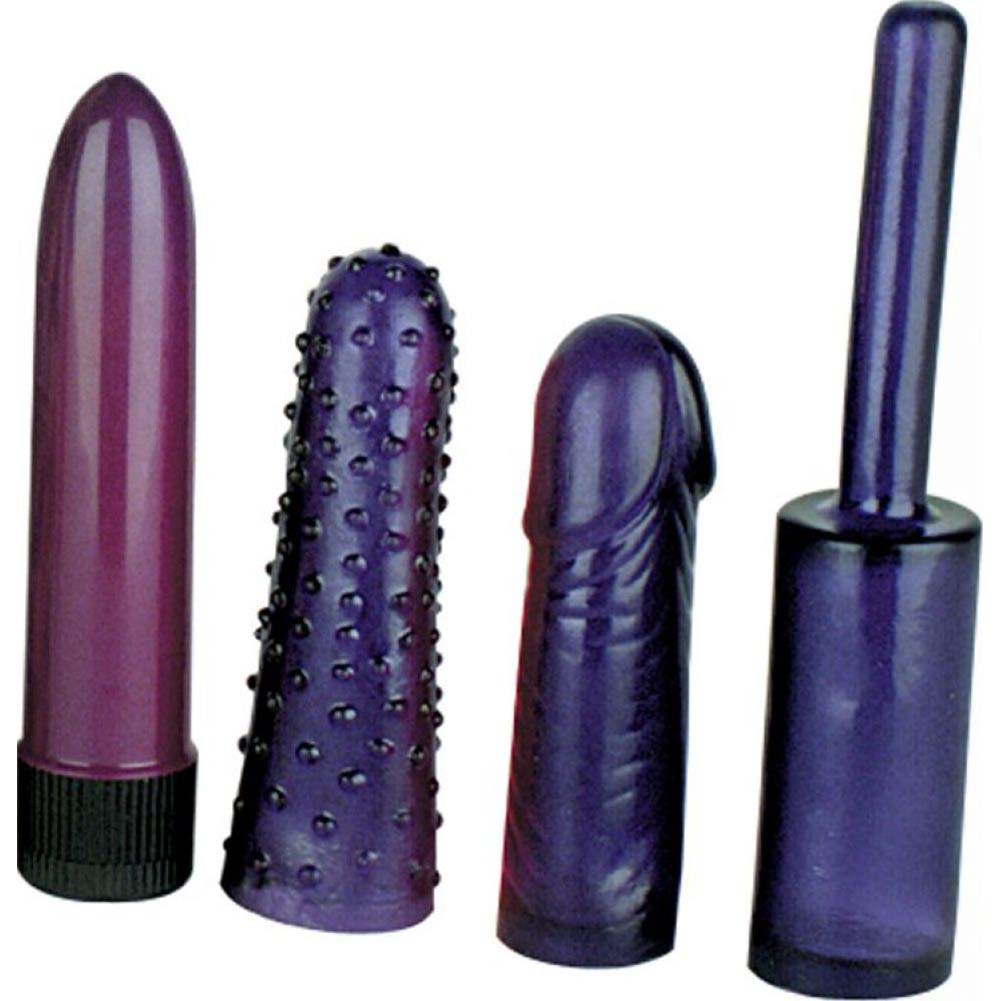 Nasstoys Anal Teaser Mini Kit Purple - View #2