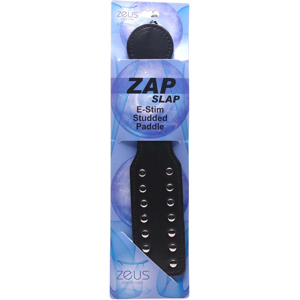 Zeus Electrosex Zap Slap Estim Studded Paddle - View #4