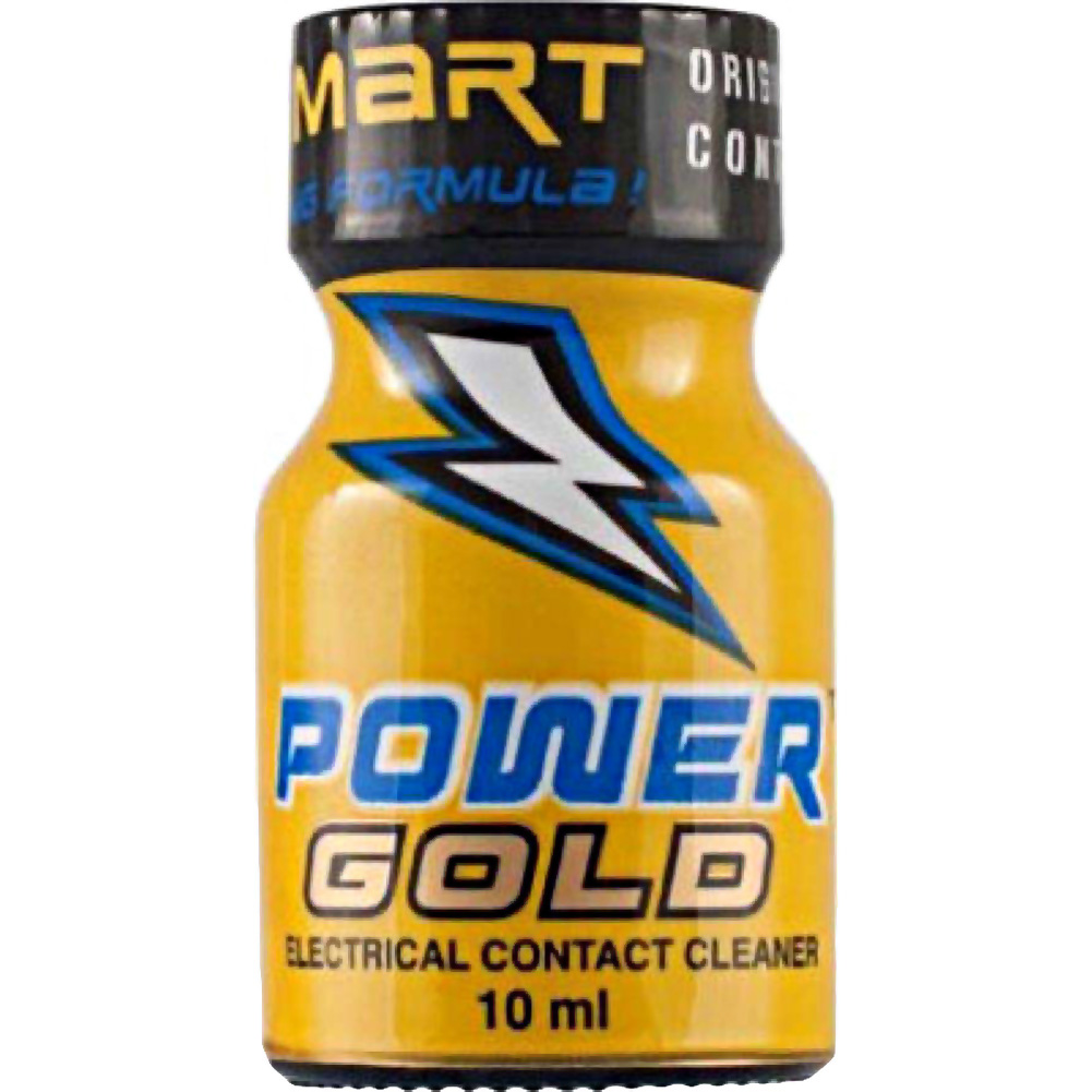 SI Novelties Power Gold Electrical Contact Cleaner 10 Ml Bottle - View #1
