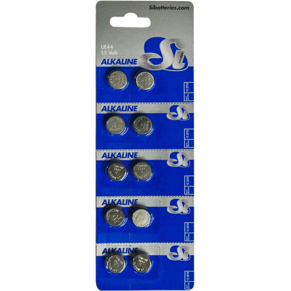 SI Novelties Alkaline LR44 Batteries 10 Pack - View #1