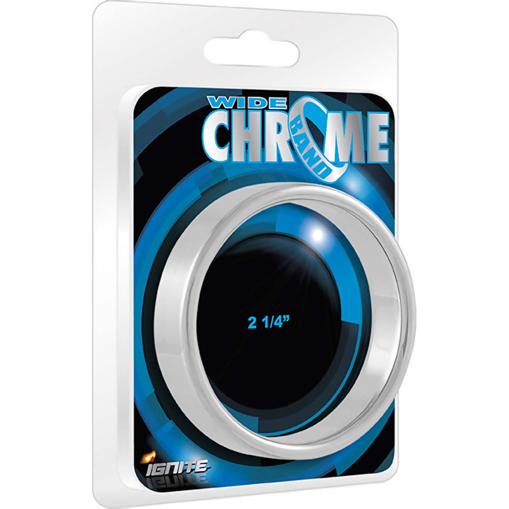 "SI Novelties Chrome Band Wide 2.25"" - View #1"