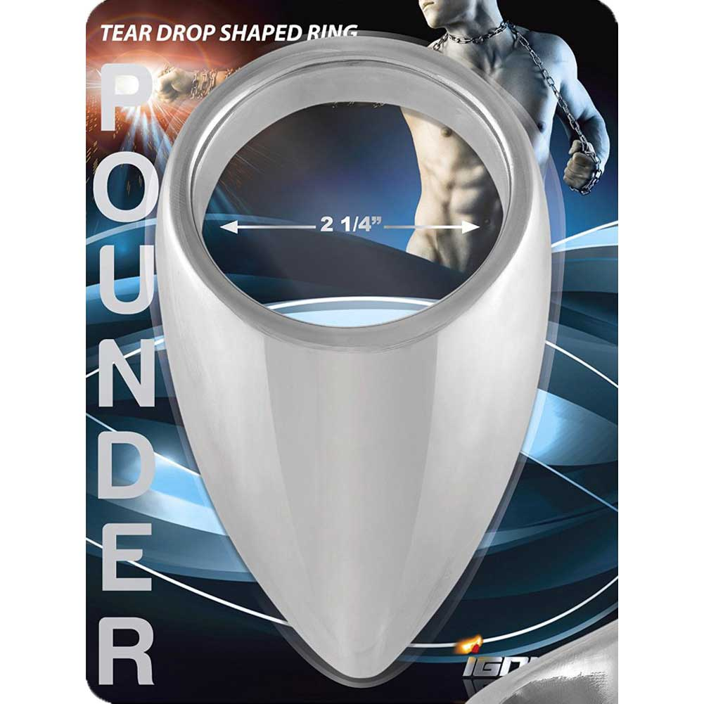 SI Novelties Pounder Tear Drop Shaped Penis Ring 2.25 - View #1