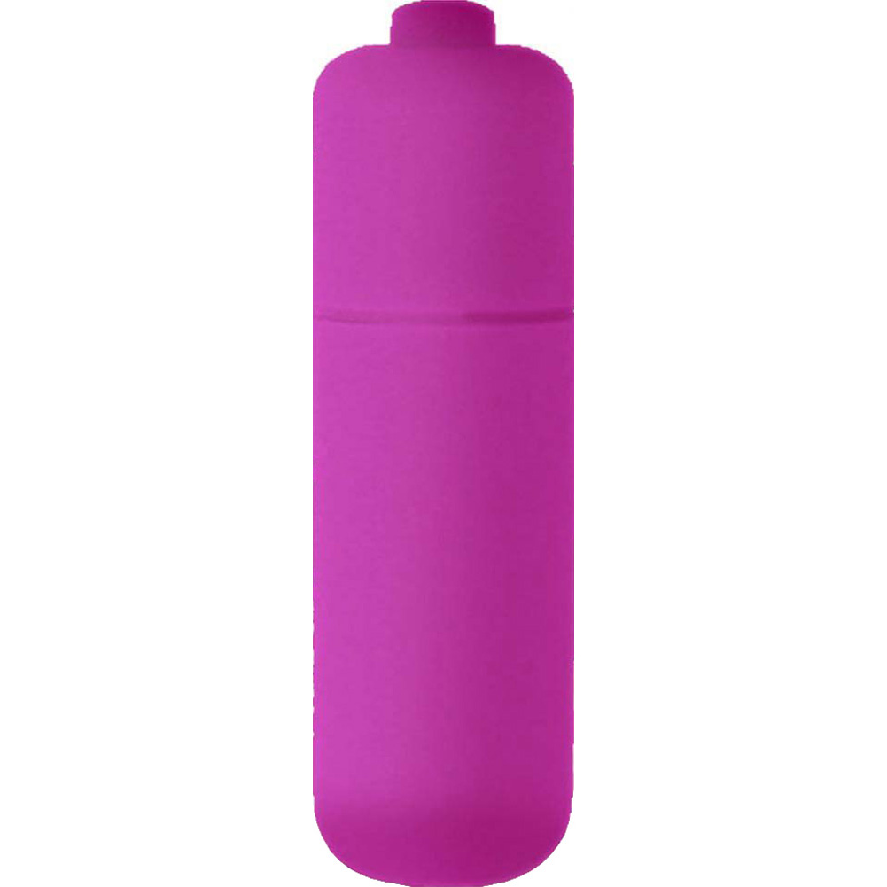 "Blush Novelties Cutey 7 Function Bullet Vibrator 2.25"" Purple - View #2"